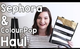 Sephora VIB Sale & ColourPop Cosmetics Haul | OliviaMakeupChannel