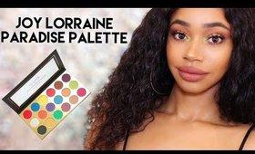 First Impressions | Joy Lorraine Cosmetics Paradise Palette