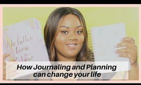 PLANNING AND JOURNALING WILL CHANGE YOUR LIFE