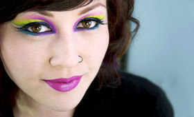 How-To: Mardi Gras Makeup
