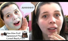 Glam Glow First Impressions & Current Beauty Favs