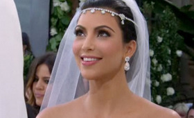 Kim Kardashian's Wedding Makeup