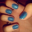 Glittery Gel-Look Nailwear