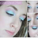 Fiesta Eyes: Teal & Purple