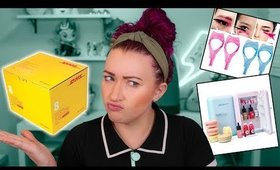 I got a GIANT Box of Asian Beauty Products & I'm Confused?? | YesStyle Haul Unboxing