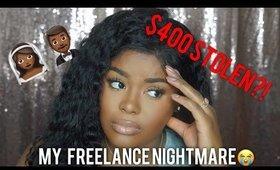 Story Time GRWM | $400 Stolen by Brides Cousin?! | Shakirah Glam Artist