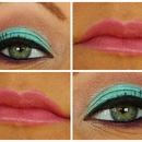 Spring colors&satin pink lips