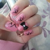Bow nails with flicks