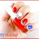 Nails Of The Day: July 4th