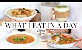 What I Eat in a Day #49 (Vegan) Comfort Food Recipes AD | JessBeautician