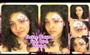 Cherry Blossom Face Paint Tutorial (NoBlandMakeup)