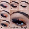 Double winged look with a twist