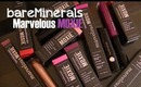 Review: NEW bareMinerals Marvelous MOXIE Lip Collection
