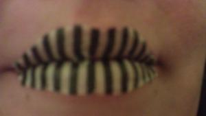 Temp Lips Tattoo