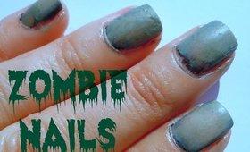 Halloween Zombie Nails