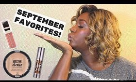 SEPTEMBER FAVORITES!!