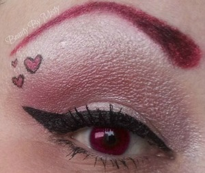 Just a quick valentines look for fun