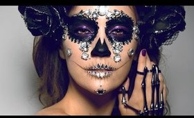 DIAMOND SUGAR SKULL Makeup Tutorial!