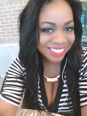 ruby woo from mac... simple day look... for me anyway
