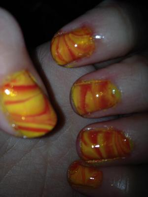 fire water marble