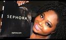 Sephora/IMATS Haul