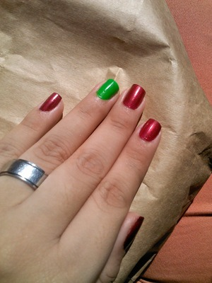 My simple nails <3.