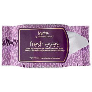 Tarte Fresh Eyes Maracuja Waterproof Eye Makeup Remover Wipes