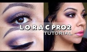 Rose Gold & Plum Smokey Eyes | Tutorial feat Lorac PRO 2