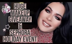 Sephora Holiday Bonus Sale + HUGE Makeup Giveaway!! Jeffree Star, Luxury Beauty & MoRe!!