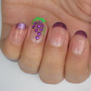 Grapes Nail Design