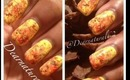 #129 Pumpkin Spice Nail Tutorial