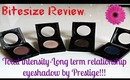 Bitesize Review: Prestige shadows total intensity collection!!! + swatches
