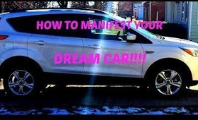 How to Manifest Your Dream Car!!