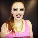 Rock makeup competition - 2nd place