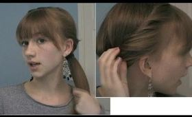 Five Minute Hairstyle for Work and School