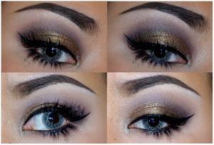 Using: Illamasqua pencil Uncany, Sophie, Precision ink - Abyss, MAKE UP STORE eyedust Chocolate foundon, Sugarpill Cosmetics - Goldilux , Inglot gel liner 77, ....
