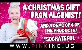 A Christmas Gift From Algenist!! And A Demo Of The Products!! #SoGrateful | Tanya Feifel