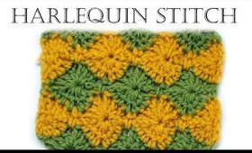 How to Crochet for Beginners | Harlequin Stitch