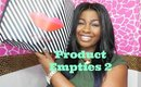 Product Empties 2