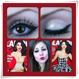 Selena Gomez cover look.