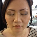 airbrush makeup and eyebrows