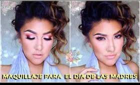 Maquillaje FACIL y SENCILLO para MAMAs / Mother's day makeup tutorial EASY | auroramakeup