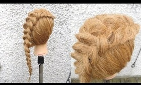How To | Fanned Dutch Braid