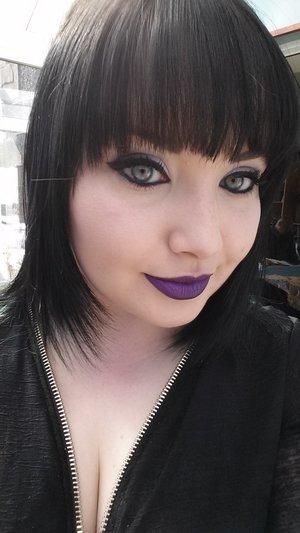 illamasqua ESP lipstick. i love it