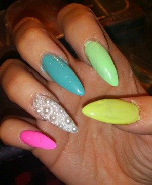 pastel and pearls