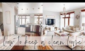 How to Keep a Clean Home | Charmaine Dulak