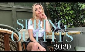 SPRING 2020 OUTFIT IDEAS
