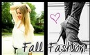 ♥ 5 Days of Fall Fashion: Outfit Ideas! ♥