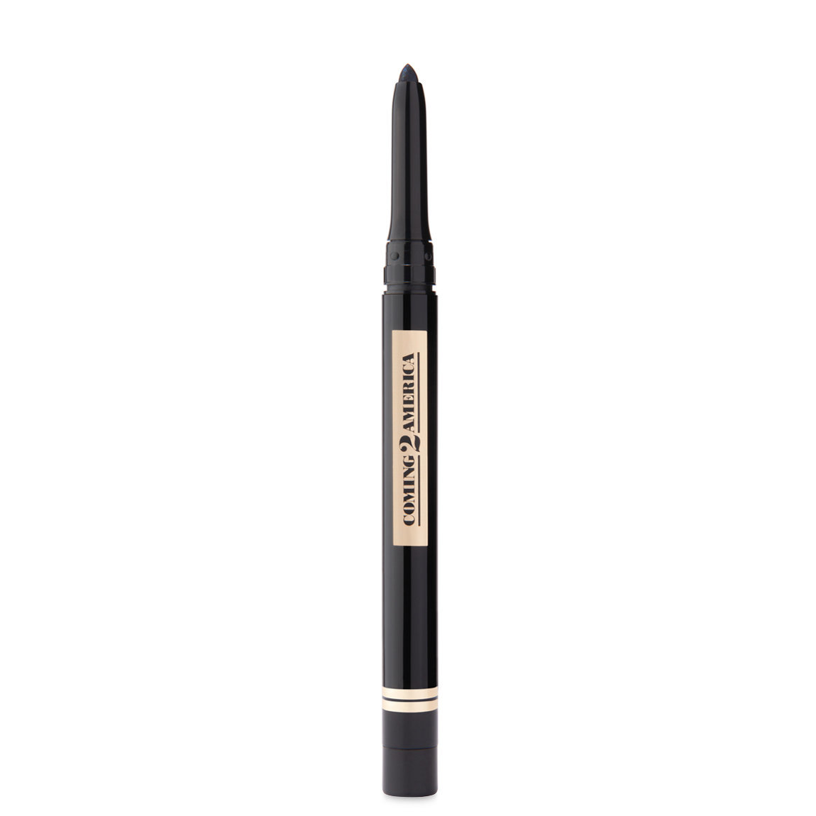 UOMA Beauty Coming 2 America Collection: Kajal Kohl Eyeliner Pencil PJ Black alternative view 1.