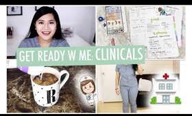 Get Ready with Me: Nursing School Clinicals, Nursing School Update, Study Tips